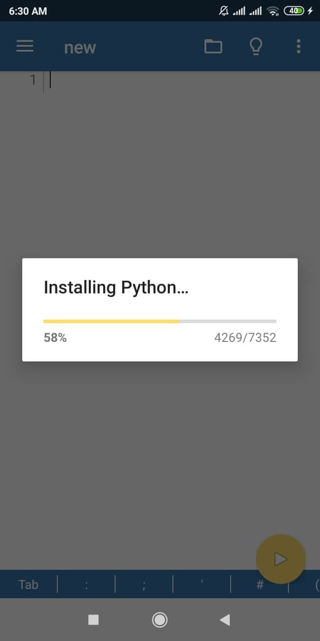 Python Install on android